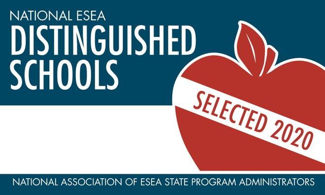 Two Delaware schools are among 57 U.S. schools that were named 2020 National ESEA Distinguished Schools for the extraordinary success of their students.
