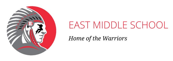 This is the current Warrior logo used by East Middle School in Erie, Pa.