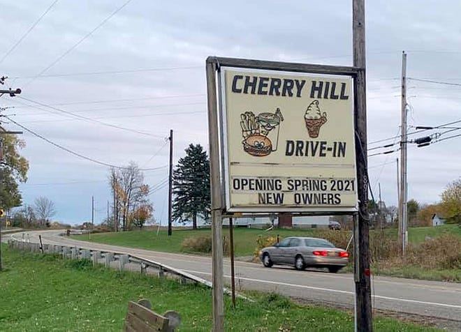 New owners plan to open the Cherry Hill Drive-In, which has been closed since spring of 2020.