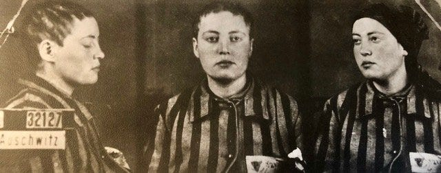 Louis Post's mother, Anna, was a prisoner of the Nazis at Auschwitz. Sher survived and is still alive at 98.