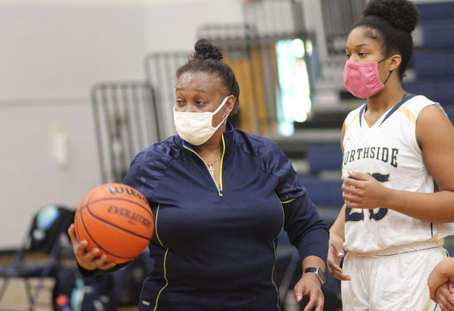 Gina Smith is the new head coach of the Northside girls' basketball team. [Chris Miller / The Daily News]