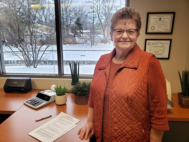 Vickie Witt marked 30 years as office manager for the Freeport Park District this past week.