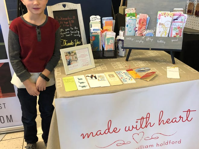 Made With Heart was a vendor at the Twinsburg Expo in March 2020, but the pandemic canceled the remainder of events for the year. Local businesses, Michael's Café and Feather Leather Designs, as well as the Twinsburg Public Library's Friends Shops, stepped up to help with sales and/or card collections.