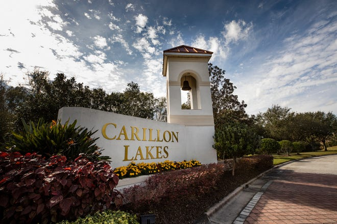 Carillon Lakes in Lakeland Fl. Friday January 15, 2021. ERNST PETERS/ THE LEDGER