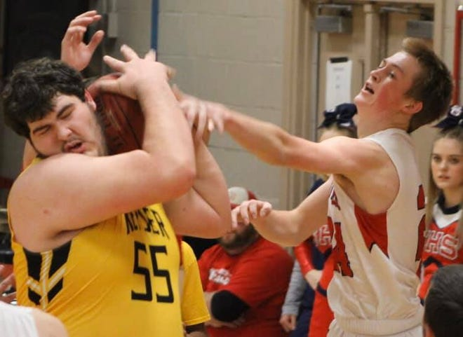 Keyser grad Shawn See is shown in action against Southern last basketball season.  Winter sports practice may begin Feb. 15.