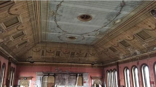 A plan to convert the historic concert hall on the top floor of the Clark Building in downtown Natick to office space is dead. A Boston real estate company that owns the building changed course because of the economic fallout from the coronavirus pandemic.