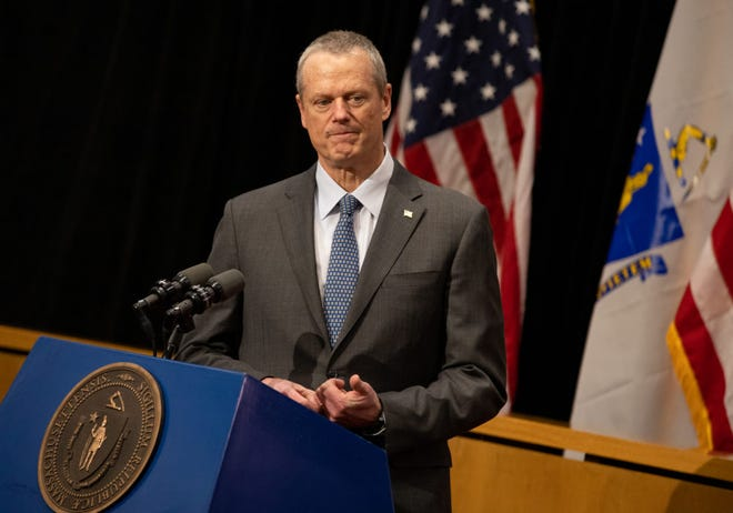 Gov. Charlie Baker is expected to file the budget bill on Wednesda.