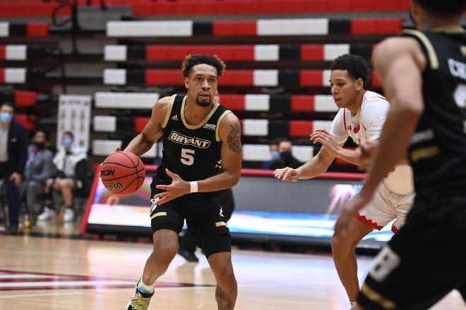 Charles Pride was one of the few Bulldogs who did hit shots in Thursday's loss to St. Francis, going 7 of 12 from the floor in a 20-point performance.