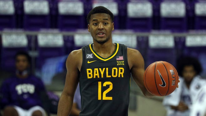Baylor guard Jared Butler leads the second-ranked Bears against sixth-ranked Kansas in a Big 12 Conference showdown Monday at Baylor.