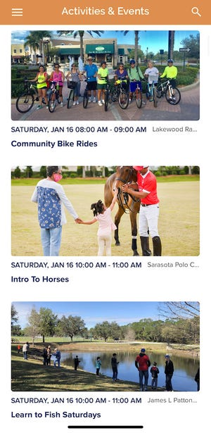 Lakewood Ranch has launched a new app that allows residents and business owners to exchange information.