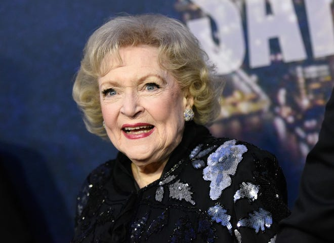 In this 2015 photo, actor Betty White attends the SNL 40th Anniversary Special in New York. White, who turns 99 today, was born in 1922 in Oak Park, Illinois.