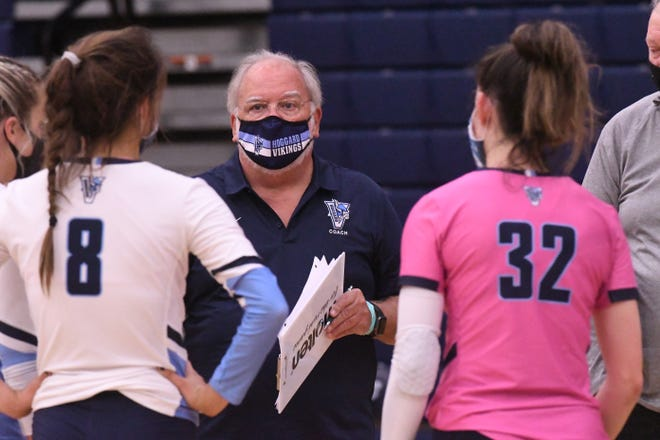 Ron Strickland coached the Hoggard volleyball team through the 2020-21 season that ended in January.