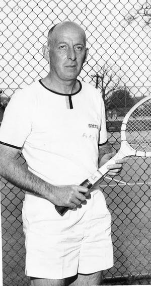 Harold Bannister's dream of playing college tennis came true at age 53.