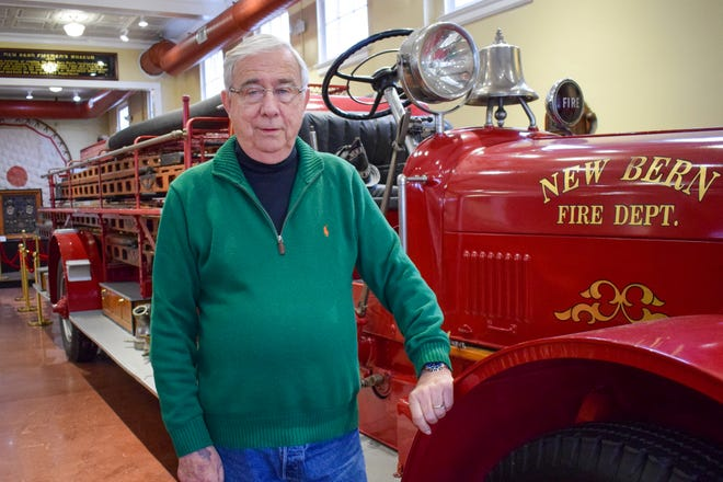 Former fire chief David Finn has a burning desire to preserve his community's rich history.