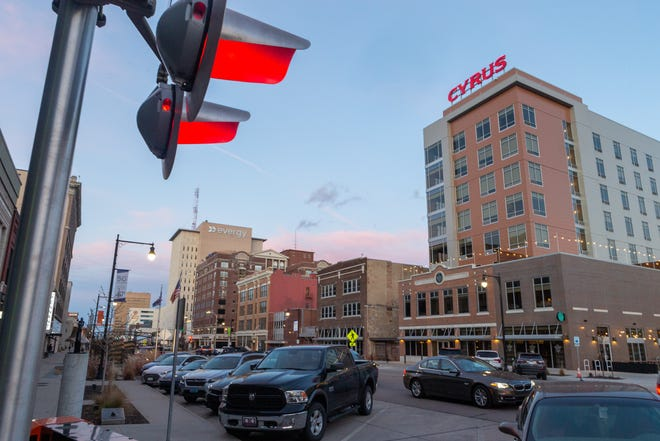 Downtown Topeka's Cyrus Hotel, at 920 S. Kansas Ave., is being added to Marriott's Tribute Portfolio hotel collection. Cody Foster, founder of AIM Strategies, which still owns the Cyrus, said he expects the change to bring more business travelers to downtown Topeka.