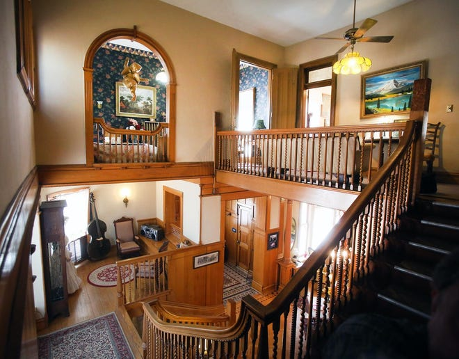 The historic Charles Curtis House at 1101 S.W. Topeka Blvd. is up for sale.