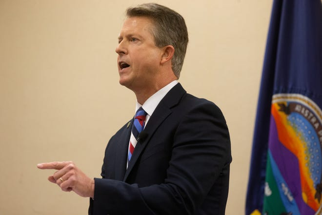 U.S. Sen. Roger Marshall was among a handful of conservative U.S. senators who opposed moving forward with a Democratic-sponsored measure for confronting hate crimes against Asian Americans.