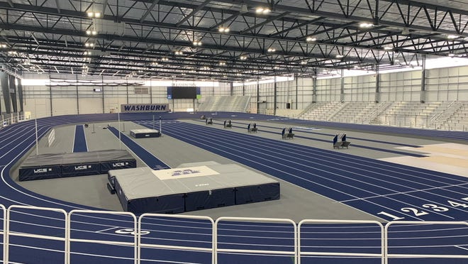 The Washburn track and field team will host its first meet inside its new state-of-the-art indoor facility this weekend.