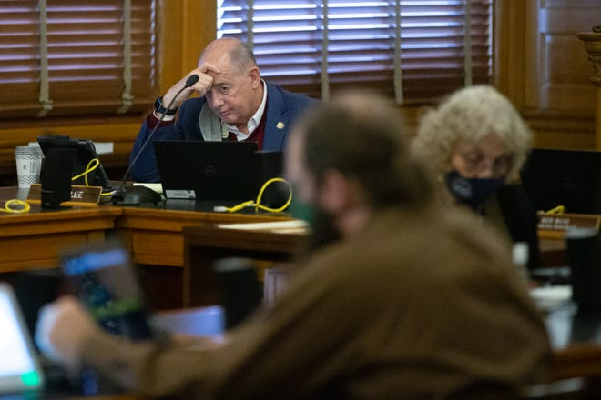 Rep. John Eplee, R-Atchison, said Thursday he was opposed to legislation that would bar employers from requiring that their workers be vaccinated, citing a legal and health risk to the state.