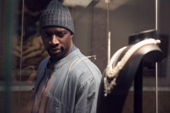 "Omar Sy stars in the French series ""Lupin"" on Netflix."