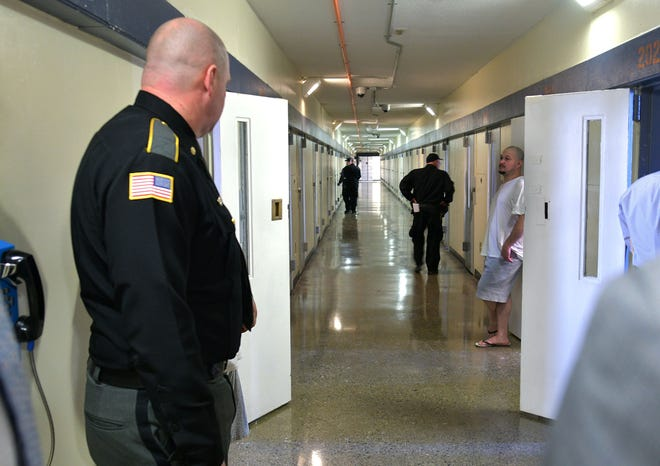 Staff and inmates at the Worcester County Jail and House of Correction will receive the coronavirus vaccine next week in accordance to the state's plan to inoculate those who work and live in congregate care settings such as correctional facilities and group homes.