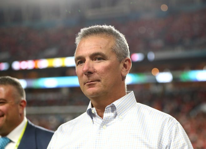 Urban Meyer is returning to the sideline, to coach the Jacksonville Jaguars.
