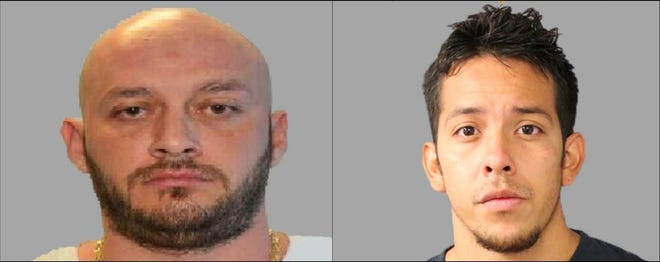 Daniel Lucero, left and Joseph Mejorado, right.