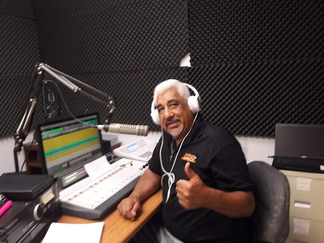 Luis Ibarra was a DJ for several radio stations in his 40-plus years working in radio