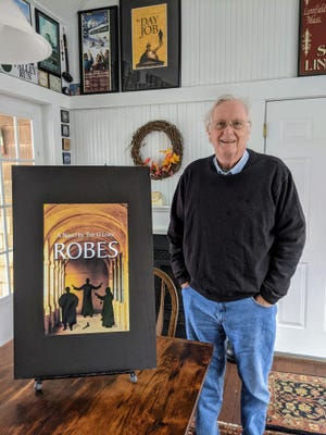 """Former Stoneham State Rep. Tim O'Leary recently released a new novel, """"Robes."""""""