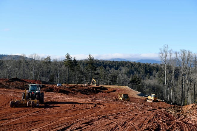 Pratt & Whitney, an aircraft engine manufacturer, is building a 1.2 million square foot plant in southern Buncombe County.