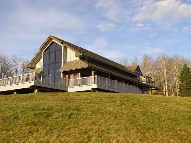 The house on Limby Birch Mountain at The Purchase provides bunkhouse-style lodging for up to 11 permitted researchers.