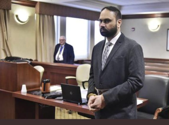 Gurpreet Singh told Judge Gregory Howard he did not object to the court pushing his trial back due to concerns about COVID-19.