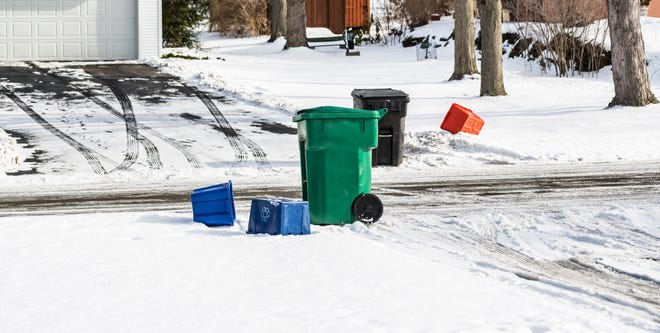 With many businesses closed or operating at reduced capacity during the pandemic, manufacturers that use recycled materials to make products such as boxes and toilet paper are relying on residential recyclers to pick up the slack.