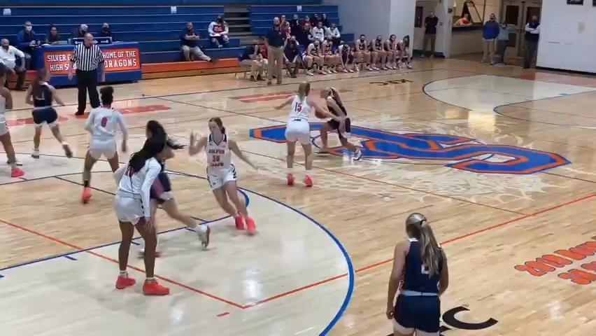 Girls basketball highlights: Bedford North Lawrence vs. Silver Creek