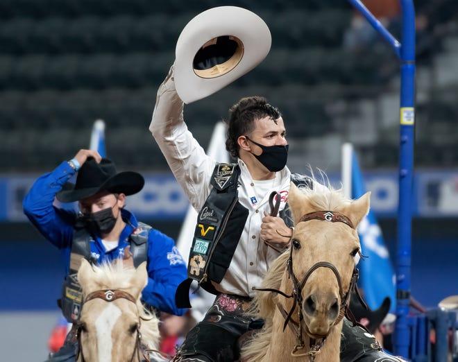Visalia's Lefty Holman, a 2017 Golden West High School grad, is a Professional Rodeo Cowboys Association member.
