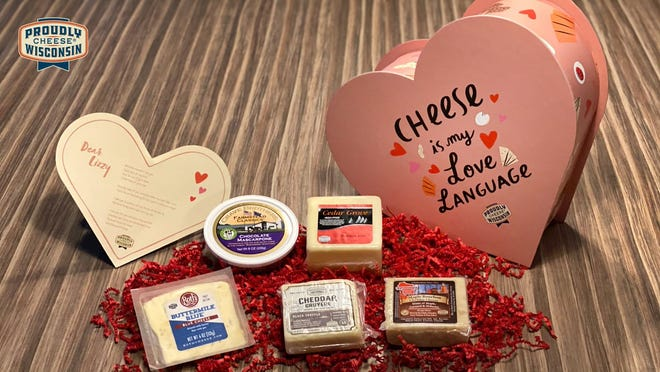Surprise your cheese-obsessed loved one with a Valentine's Day box of Wisconsin specialty cheese this year.