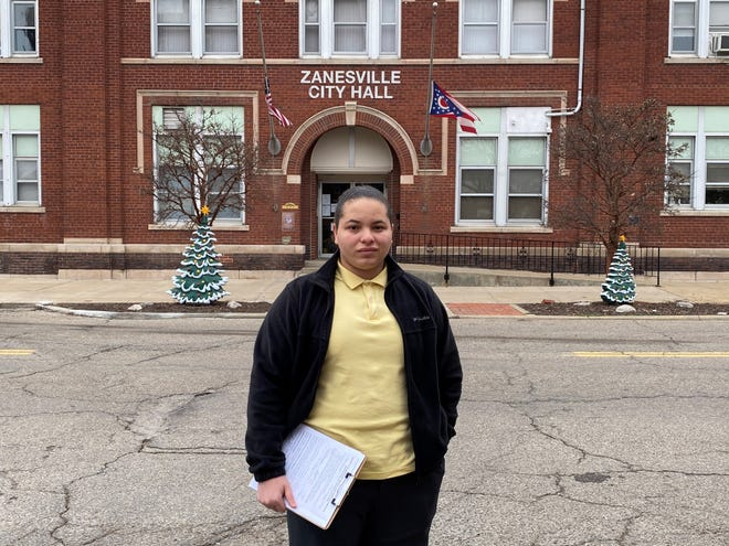 Community activist Kyle Johnson, 19, will run for an at-large seat on Zanesville City Council this fall.