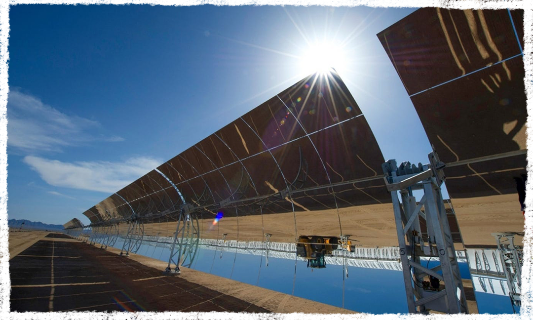 The Genesis solar energy project was built in Riverside County, California, and has drawn criticism from nearby tribes.