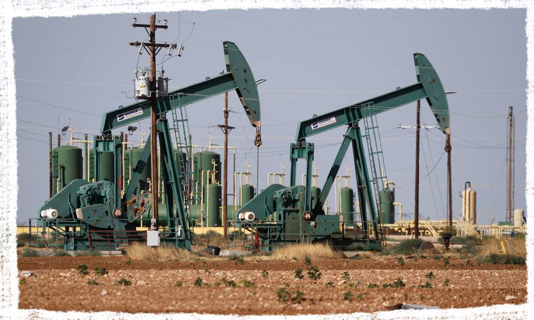 Pump jacks are shown in an oil field July 29, 2020, in Midland, Texas.