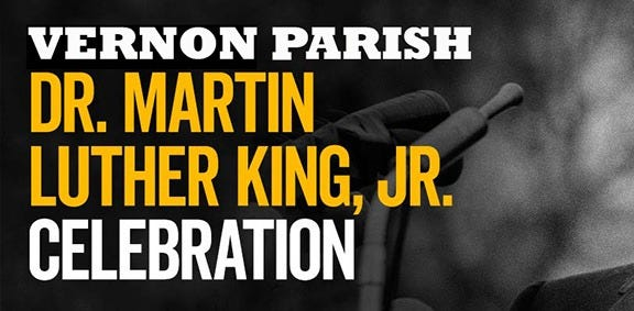 The Vernon Parish King Day Coalition will broadcast its Virtual King Day Celebration on Facebook.