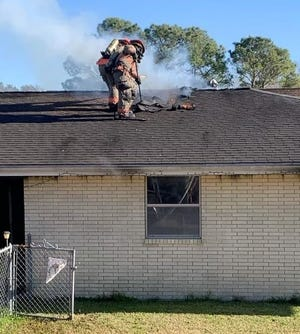 Lafourche Parish Fire District 3 in Galliano was called out around 2:41 p.m. to a house fire on the 100 block of West 83rd Street in Cut Off.