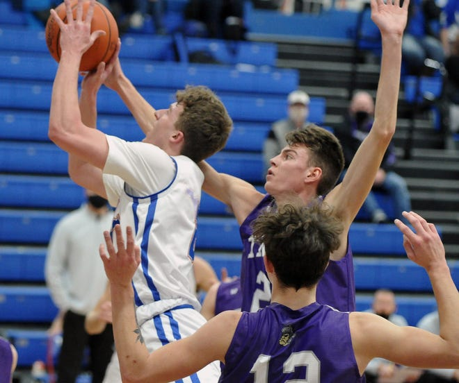 Tuslaw's Nate Frascone is the only player in the area averaging a double-double, with 12.3 points and 11.3 rebounds per game.