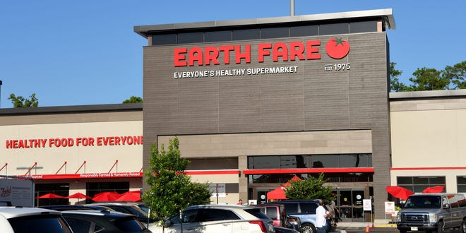 Earth Fare opened its natural and organic specialty food grocery Wednesday at the Shoppes at St. Johns Parkway,  120 Shops Blvd., St. Johns.  Pictured is the former store in Jacksonville's Mandarin neighborhood.