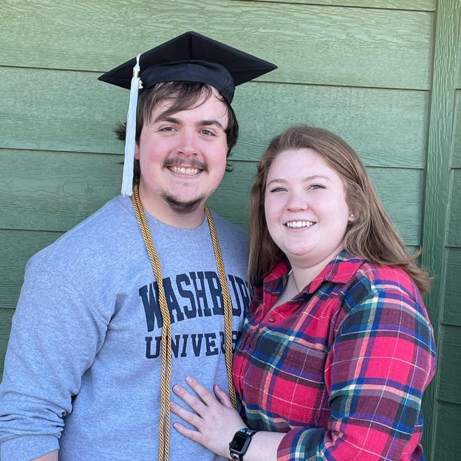 Josh Cannon, a Kiowa County native, graduated from Washburn University in Topeka in December 2020.