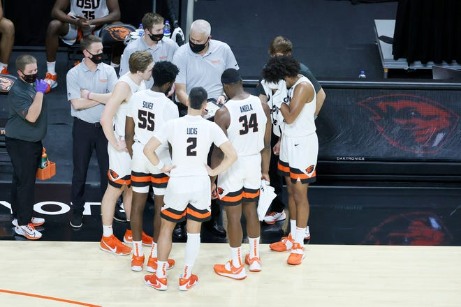 The Oregon State men's basketball team hosts USC on Tuesday.
