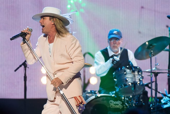 Inductees Robin Zander, left, and Bun E. Carlos from Cheap Trick perform at the 31st Annual Rock and Roll Hall of Fame Induction Ceremony at the Barclays Center on April 8, 2016, in New York. Zander, 68 today, was born on Jan. 23, 1953, in Beloit, Wisconsin. He was raised near Rockford, Illinois and graduated from Harlem High School in Machesney Park, Illinois.