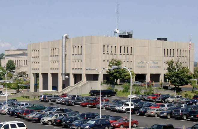 Worcester Police Department headquarters.
