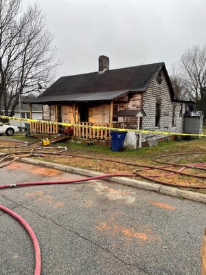 One person died after a fire in the 300 block of W. Market Street in Graham.