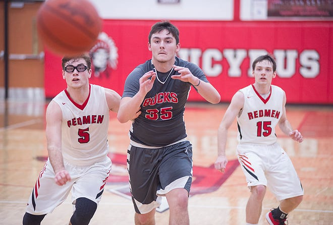 Brady Kerschner and the Bucks are sitting in second place behind state-ranked Colonel Crawford.