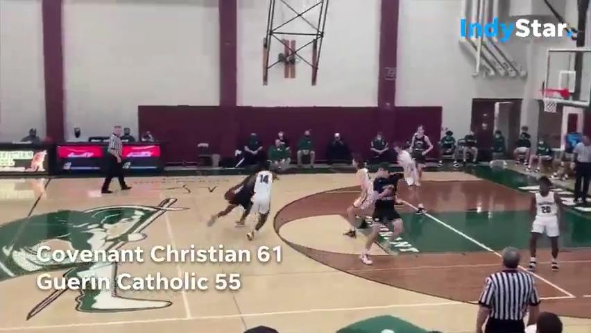 Indiana High School Basketball Highlights: Covenant Christian 61, Guerin Catholic 55